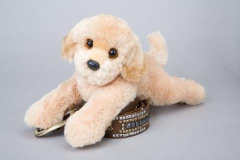 "Sweetie the Plush Golden Retriever  14"" by Douglas Cuddle Toys"
