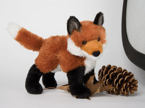 "Francine the Plush Fox  8"" by Douglas Cuddle Toys"