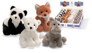 GUND Animal Chatter  Zoo Plush Sound Toys (Set of 4)
