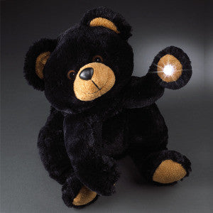 Beamerzzz Plush Flashlight Smoky Teddy Bear   - 12""