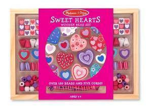 Sweet Hearts  Bead Set  - Melissa and Doug #4175 - Ages  4+