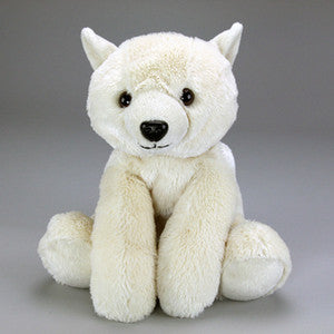 "PJ, the Plush Polar Bear  - 16"" - Purr-Fection by MJC"