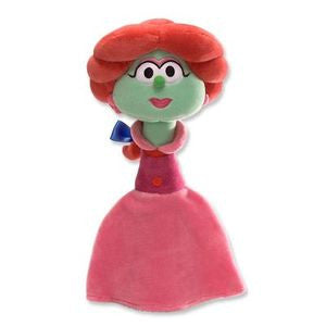 Veggie Tales Sweet Pea Beauty Plush Toy - GUND NWT