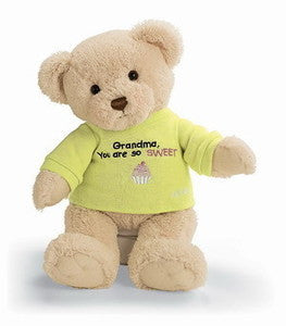 "GUND Plush ""Grandma You're So Sweet "" Teddy Bear - 12"""