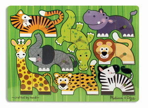 Vehicles  Mix n Match  Peg Puzzle - Melissa and Doug