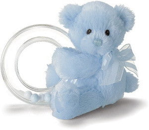 "My First Teddy 15"" Plush Teddy Bear Blue - GUND Baby"