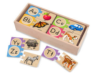 Self Correcting Alphabet Letters  Puzzle - Melissa and Doug