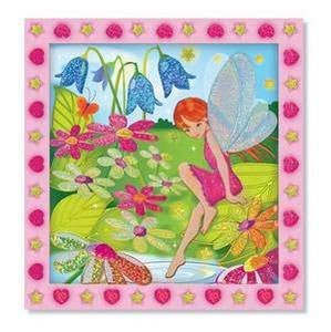 Flower Garden Fairy   Peel & Press Stickers by Numbers -  - Melissa and Doug
