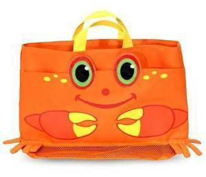 Clicker Crab Beach tote Bag and Toys  - Melissa and Doug - BUY SET AND SAVE