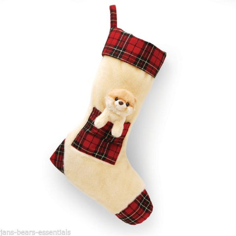 "Gund ""BOO The World's Cutest Dog"" Christmas Stocking 15"" #4038197"