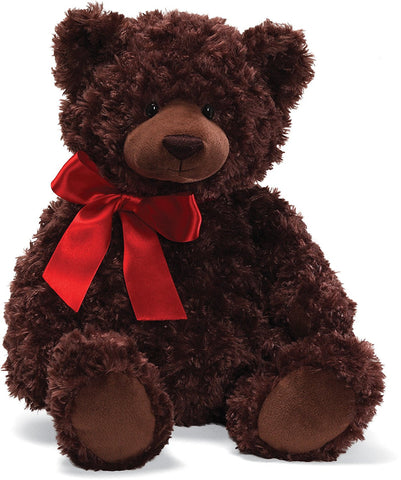 "Gund Cody Plush Christmas Teddy Bear Brown 20"" #4029200"