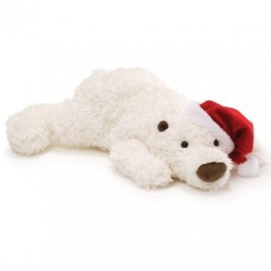 "Gund Snowdrop Plush Christmas Polar Bear 18"" #4035973"