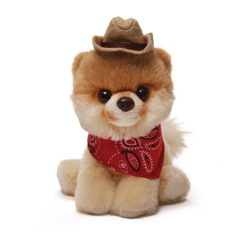 GUND Itty Bitty BOO With Cowboy Hat 5""