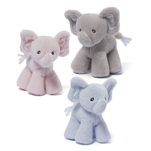 Baby Gund Bubbles the Elephant Rattle