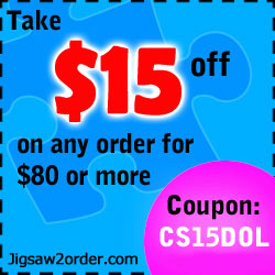 Jigsaw2order $15 off coupon