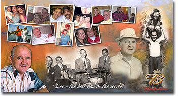 Photo Collage Gifts for Grandparents