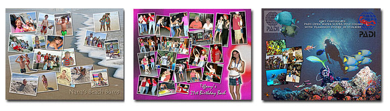Picture Collage Layouts Set 5