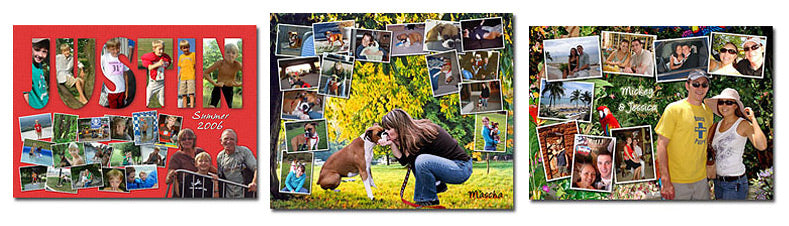 Picture Collage Puzzle Layouts
