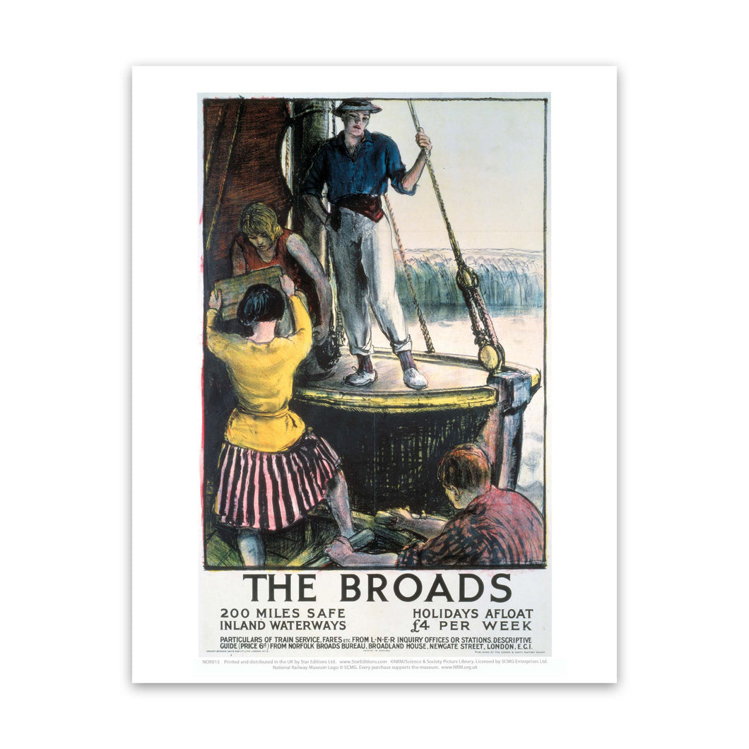 The Broads Art Print