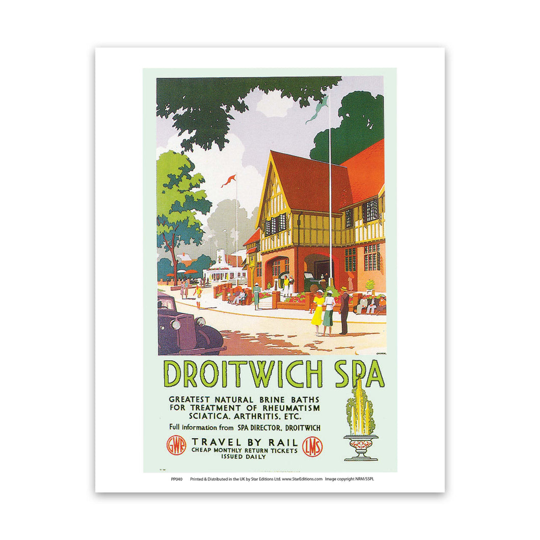 Driotwich Spa Art Print
