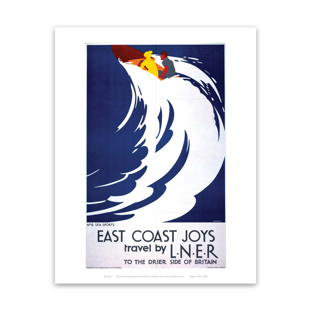 Railway Poster -East Coast Joys - RAIL037