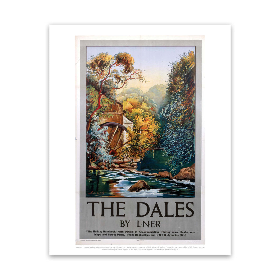 The Dales Watermill Art Print