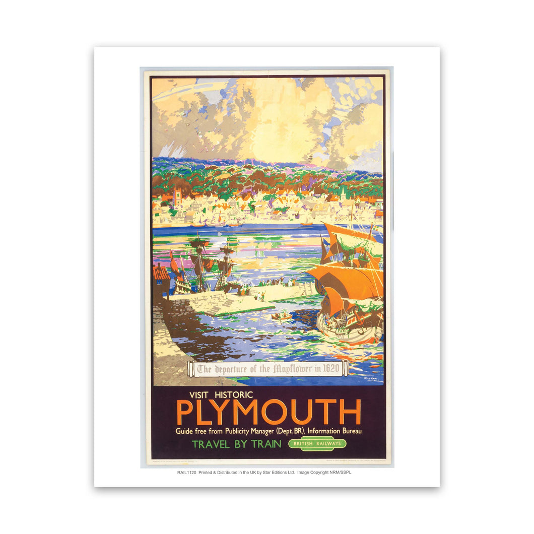 Visit Historic Plymouth Art Print