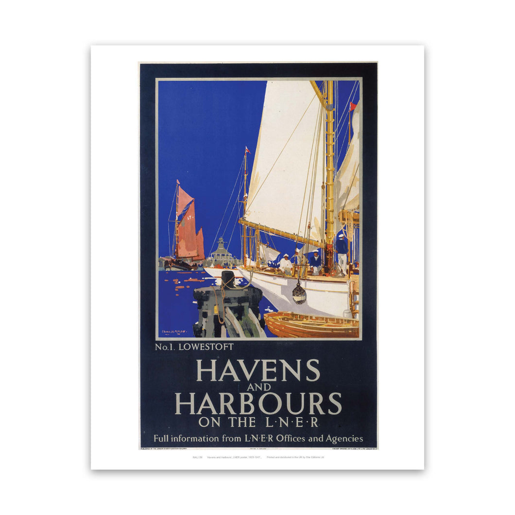 Havens and harbours Art Print