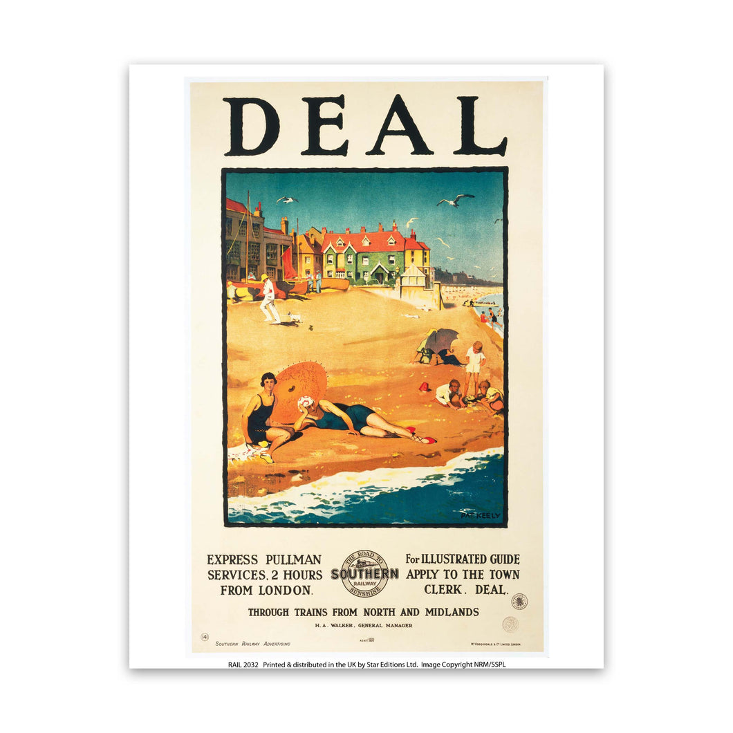Deal Southern Railway Art Print