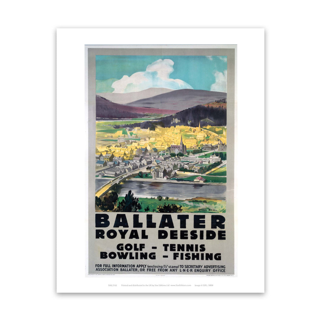 Ballater Royal Deeside Art Print