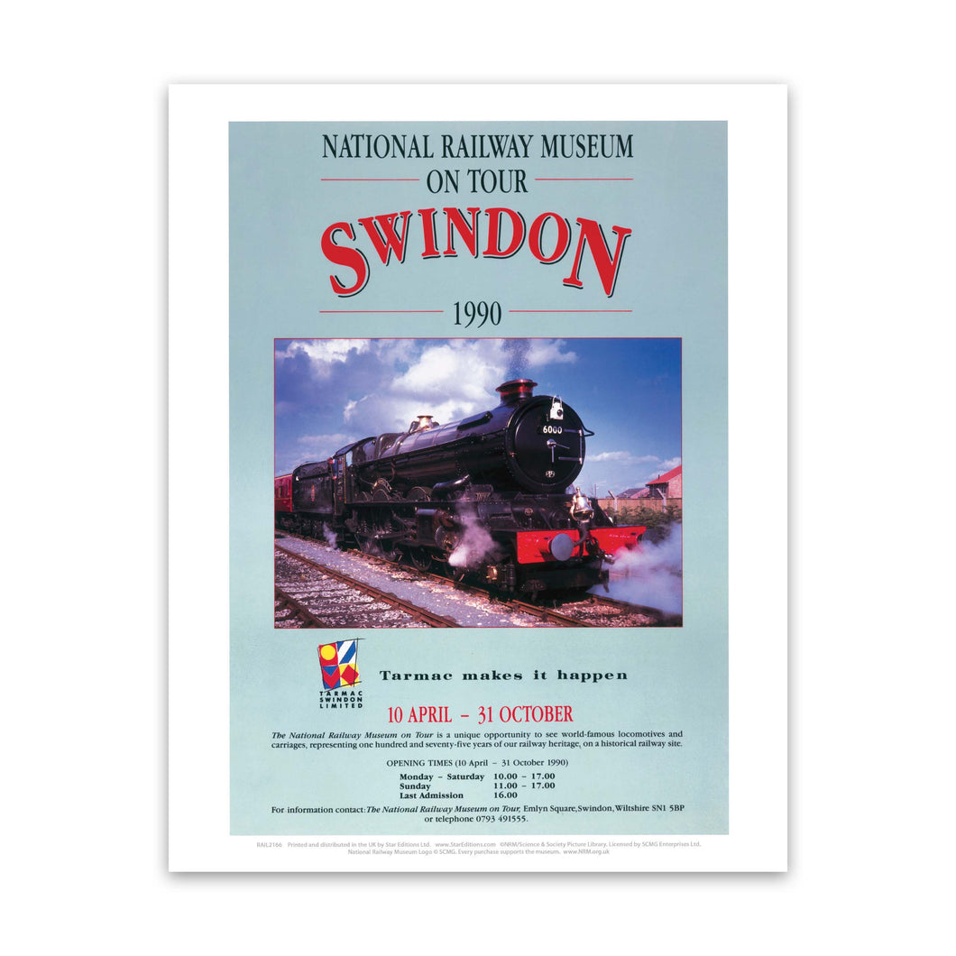 Swindon NRM Art Print