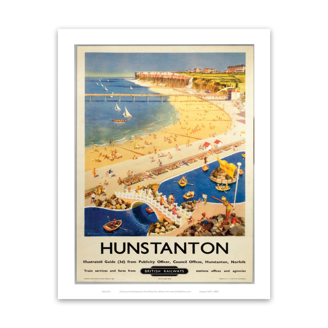 Hunstanton British Railways Art Print