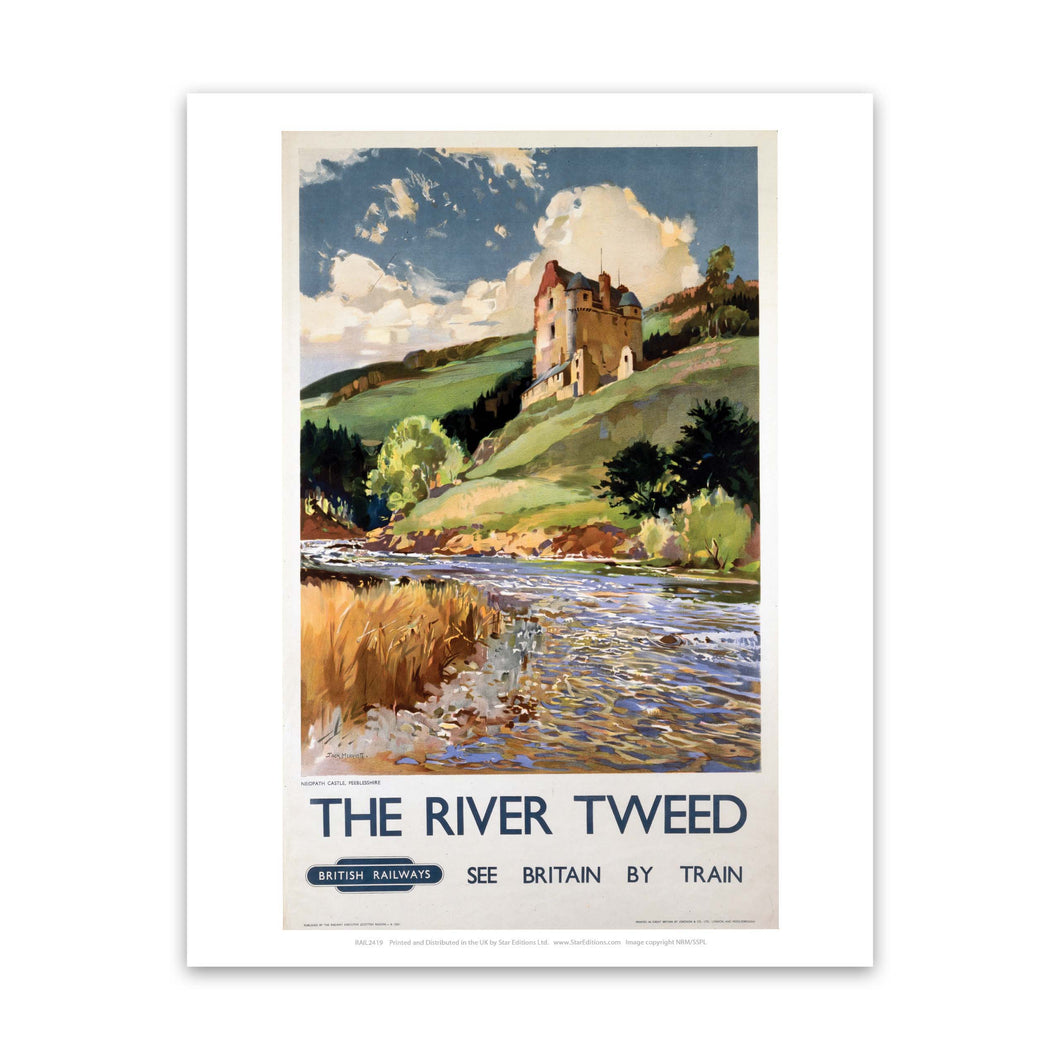 The River Tweed British Railways Art Print