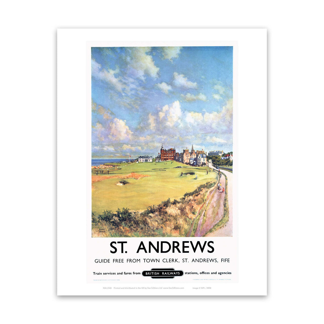 St Andrews, Fife British Railways