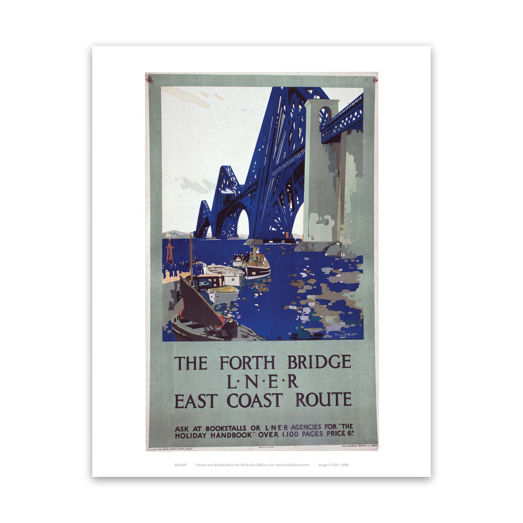 The forth bridge Art Print
