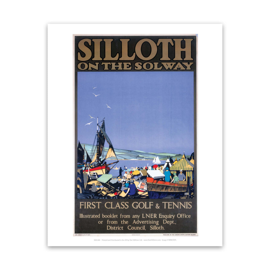 Silloth on the Solway Art Print