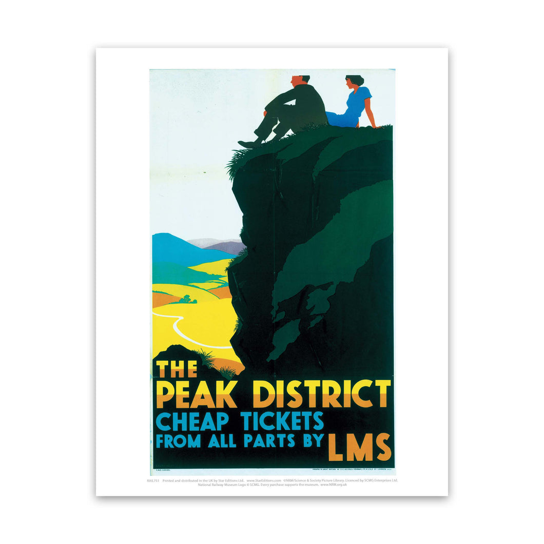 Peak District cheap tickets from all parts - LMS Art Print