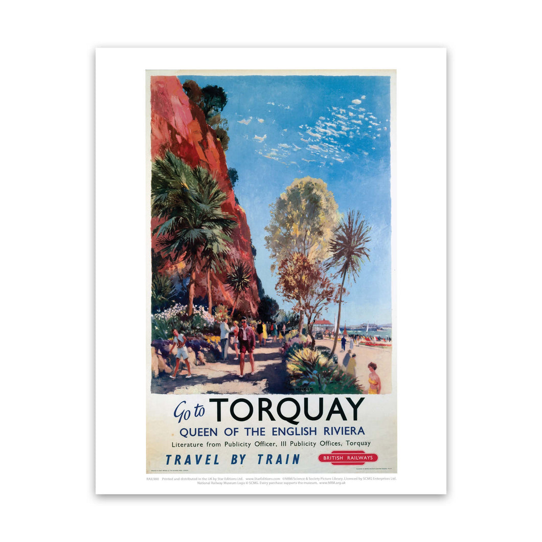 Go to Torquay - Queen of the English Riviera Art Print