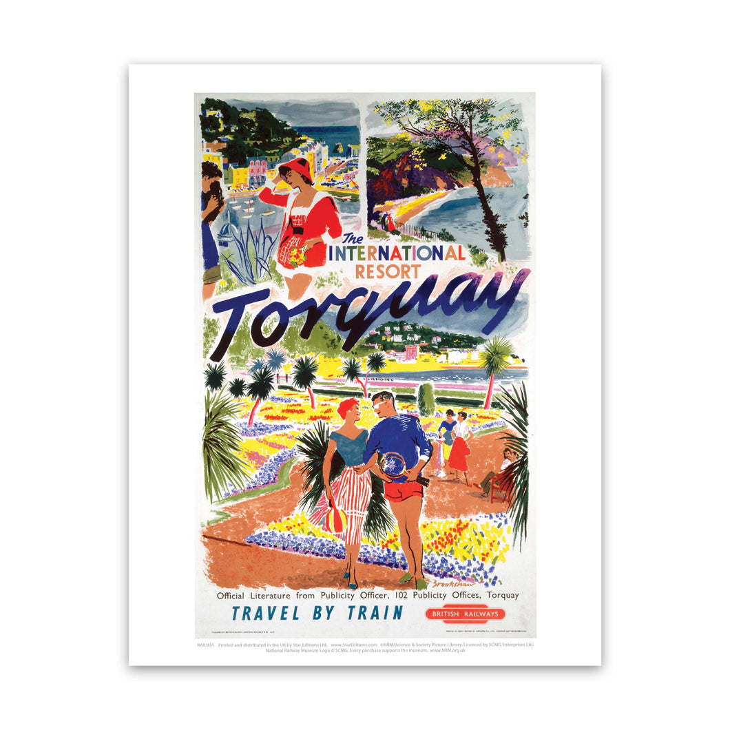 International Resort of Torquay Art Print