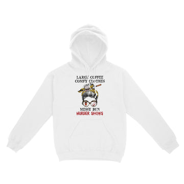 True Crime Large Coffee Comfy Clothes Hoodie