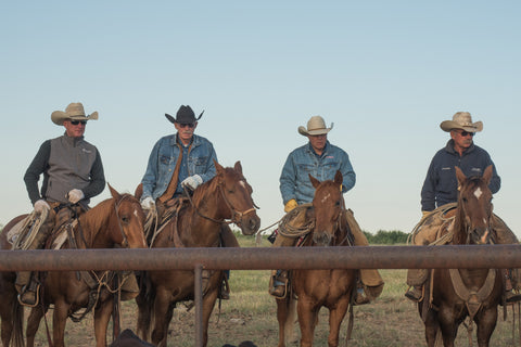 cowboys of the Wellborn 2R Ranch in Clay County Texas