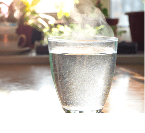 Hot Water in a glass – Livpure