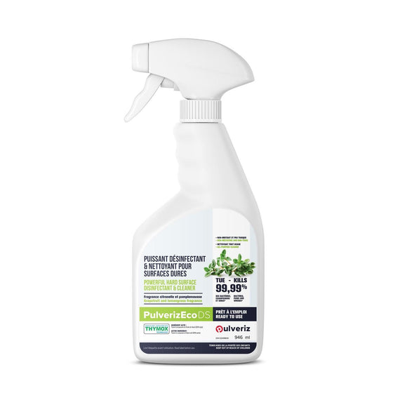 PulverizEco DS- Hebal Base Disinfectant & Cleaner Made in Canada