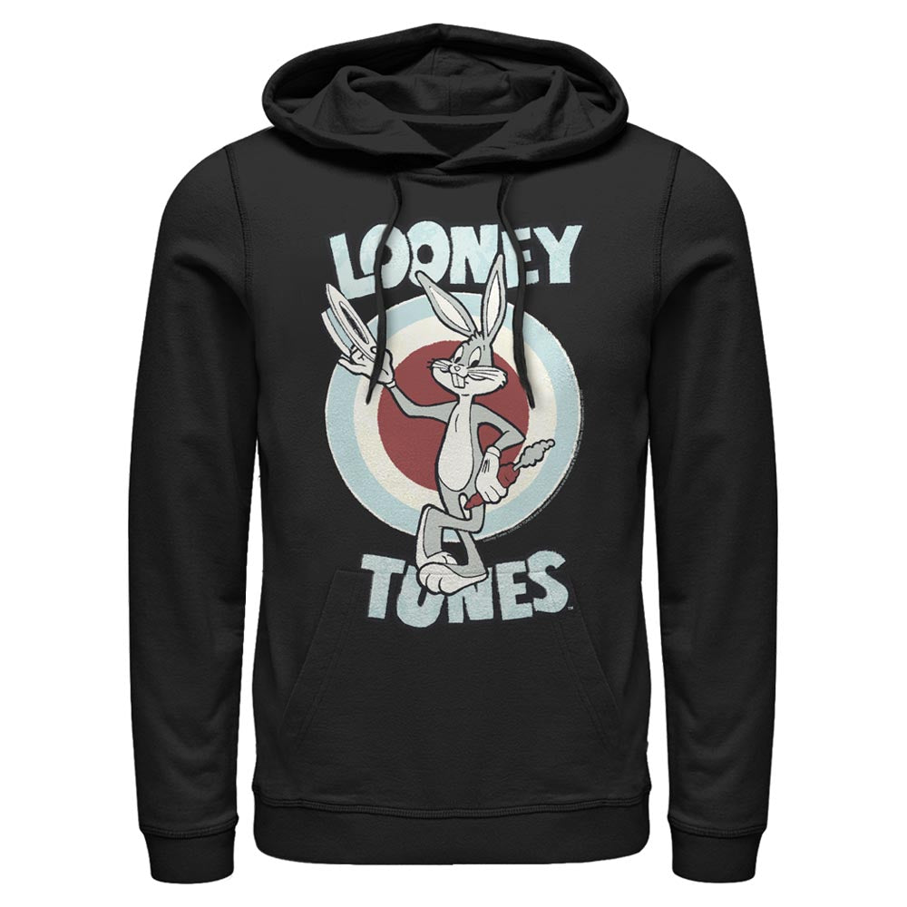 Black Bugs Bunny Hats Off Hoodie from Looney Tunes Image