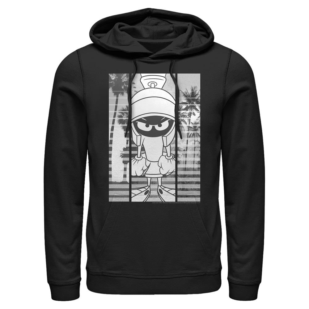 Marvin the Martian Black-and-White Block Hoodie from Looney Tunes