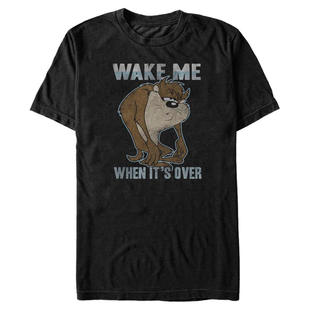 Taz Wake Me When it's Over T-Shirt from Looney Tunes