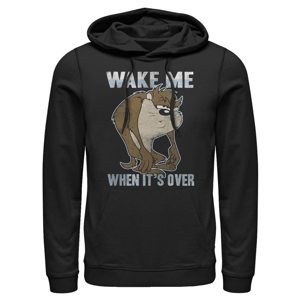 Taz Wake Me When it's Over Hoodie from Looney Tunes