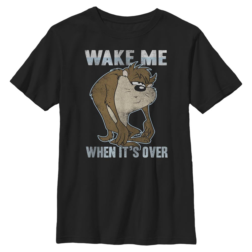 Taz Wake Me When it's Over Kids' T-Shirt from Looney Tunes