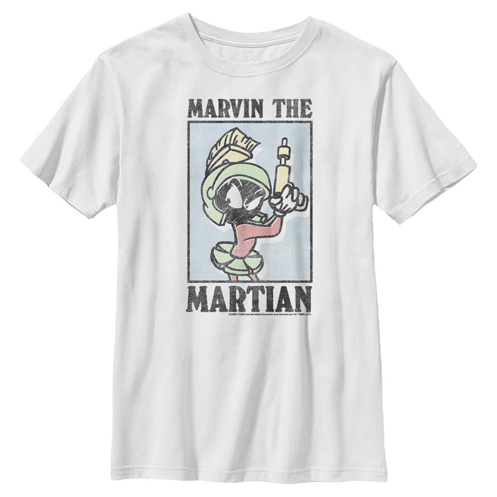 Marvin the Martian Pastel Kids' T-Shirt from Looney Tunes