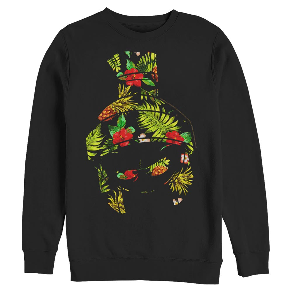 Marvin the Martian Tropical Silhouette Crew Sweatshirt from Looney Tunes